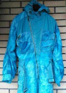 EMMEGI Ski Suit Snowsuit Blue RARE Vintage