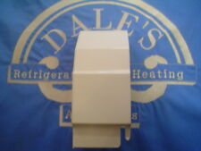 End Cover Petite7 Left Hand 3 Inch P106 Beige / White for Residential Baseboard