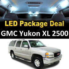 16x White LED Lights Interior Package Deal For 2001 GMC Yukon XL 2500