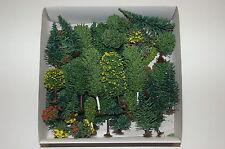 Jordan H0 - 50 verschiedene Bäume / Sträucher - Mischwald - Neu/Ovp - 4A