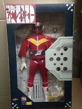 """Medicom 12"""" Power Rangers Goranger Figure Red go ranger Sentai Aka Rangers 1/6"""