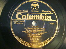 78 : COL 2235 D- CLIFF EDWARDS-  SING  / SINGING A SONG TO THE STARS E+/E