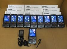 10 x Casio IT-800RGC-35 Rugged Industrial Barcode Scanner Imager Camera GPS
