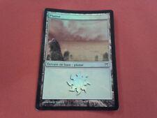 TERRAIN BASIC PLAINE 289/306 FOIL KAMIGAWA RARE CARD MAGIC MTG FRENCH VERSION