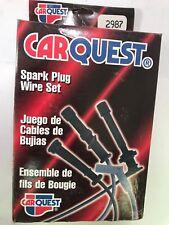 Spark Plug Wire Set Car Quest 2987 For 81-90 Ford Mercury EXP Escort LN7 Lynx l4