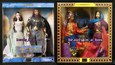 Lord of the Rings Barbie Doll Arwen Aragorn Tales of the Arabian Nights Lot 2