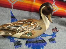 Ducks Unlimited Pintail Decoy World Champion Carver John Gewerth Limited Edition