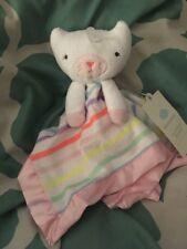 Cloud Island Kitty Cat Security Blanket Target Lovey Soft Stripe Multi Pink New