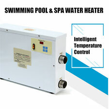 9KW 220V Digital Swimming Pool & SPA Hot Tub Electric Water Heater Thermostat