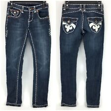 Miss Chic Jeans Stitched Size 3