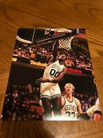 ROBERT PARISH BOSTON CELTICS CHIEF SIGNED AUTOGRAPHED 8X10 PHOTO HALL OF FAME 1