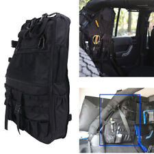 1x Left Roll Bar Storage Cargo Bag Cage Trunk Accessories For Jeep Wrangler JK