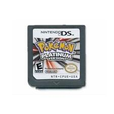 English,Pokemon Platinum USA Version Game Cartridges for Nintendo 3DS NDSI