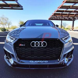 Audi RS3 8V FL RS3 Front Chin Splitter AP Design