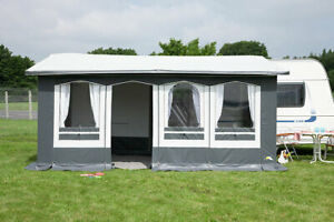 Dauerstand Zelt, Wohnwagen Vorzelt,Teil Zelt, Vorzelt, Favorit III Gr. 2