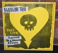 ALKALINE TRIO - Agony & Irony : Past Live LP, Limited YELLOW COLORED VINYL NEW!