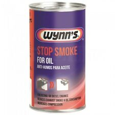 Wynns Stop Smoke Oil Additive Reduce Exhaust Smoke Noise Petrol Diesel Engines
