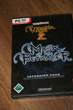Neverwinter Nights 2 mask of the betrayer atari expansion-pack pc game cd-rom