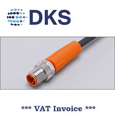IFM  EVC344 M8 Plug Straight 3 Pin 2m PUR Sensor Cable 000296