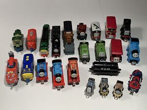 Lot 23 Thomas The Train Diecast Wood Magnetic Engine Train Cars ERTL Mattel more