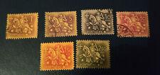 Portugal  1953 - Série 6 timbres oblitérés - Chevaliers