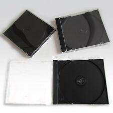 1 X CD DVD Custodia 10.4mm per 1 Disc con nero Supporto - Confezione da 1