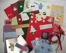 Enfants's carte de Noël Making/Craft Kit (donnent 10 cartes) FREE POST