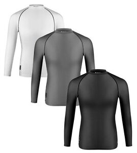 Aero Tech Long Sleeve Compression Shirt  - Base Layer Spandex Top UPF 50+
