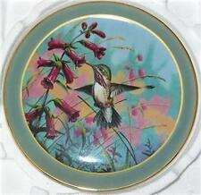 """Hummingbird Plate """"Moments In The Garden"""" 2Nd Issue"""