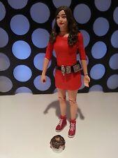 "DR WHO CLARA OSWALD IMPOSSIBLE GIRL SET ASYLUM OF THE DALEKS RED DRESS 5"" FIGURE"