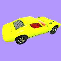 Corgi Toys Lamborghini Miura P400 Vintage Die Cast Gt Britain Nice 1/43 Scale