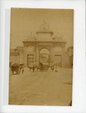 Porte de ville, à identifier Vintage albumen Print Tirage albuminé  13x18