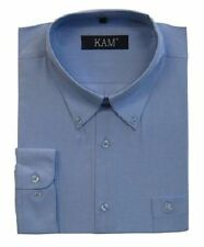 Men's Cotton Blend Collared Casual Shirts & Tops