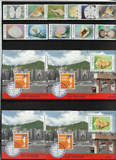 Bahamas 1997, Ivert 912/22 + 4 hong kong 97. mnh. sheets block