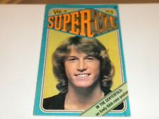 1978 SUPERMAG Andy Gibb Mini Poster In Centerfold Vol.3 No.3