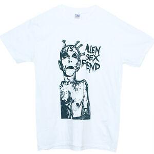 Alien Sex Fiend Hardcore Punk Rock Metal Band Gig Poster T shirt-Unisex S-2XL