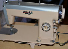 Vintage White Sewing Machine Model 1314 with Two Instruction Manuals *RARE*