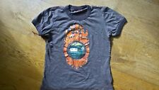 Designer Oilily Brown Orange Goth Emo Short Sleeved T Shirt 8 y 128 cm