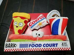 Costco Food Court,  Bark Box Toy Set, New in Box