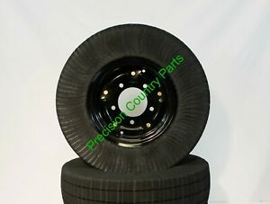 """21"""" Bush Hog Laminated Tail Wheel for Rotary Cutters & Batwing Mowers- 5 Bolt"""
