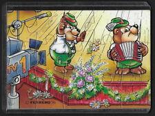 Jouet kinder puzzle 2D Top Ten Teddies Musiciens 3 Allemagne 1995 + étui +BPZ