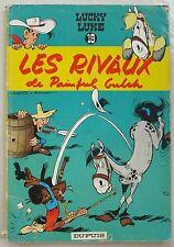 Lucky Luke Les Rivaux de Painful Gulch MORRIS & GOSCINNY éd Dupuis rééd 1964