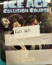 ICE AGE COLLISION COURSE FULL SET OF STICKERS X176