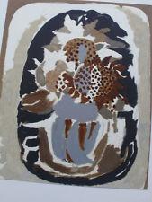 Original-Lithographien (1950-1999) aus Europa mit Blumen- & Pflanzen-Motiv