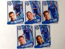 TOPPS PREMIER LEAGUE 2006/07 I-CARDS. FULL SET OF ALL 5 CHELSEA