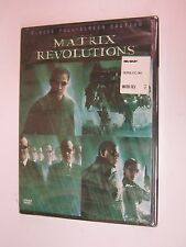The Matrix Revolutions (DVD, 2004, 2-Disc Set)- Keanu Reeves, Laurence Fishburne