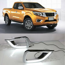 For Nissan Navara NP300 15-18 White LED daytime running lights DRL Fog lamp 2PCS