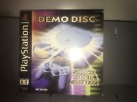 PlayStation Demo Disc: Shock Your System! with Original Sleeve RARE