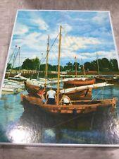Sailing Boats 1000 Piece Puzzle Mariusz Maczka 1000 PC, Used Good Condition