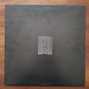 JOY DIVISION Unknown Pleasures FACTORY RECORDS Inner FACT10 MVS UK VINYL LP